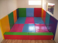Soft play relleno de pared de seguridad, 6CM de espesor