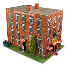 "BK 4807 1:48 Scale ""Hotel"" Photo Real Scale Building Kit Innovative Hobby Supply"