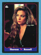 LE BELLISSIME -Masters Cards 1993 -n. 31 - THERESA RUSSEL - ATTRICE -New