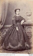 Cdv 2756 Carte de visite,  Wolf, Galatz, Mme de Meurville vers 1865