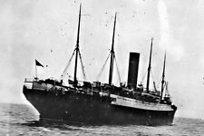 New 5x7 Photo: Rescue Ship SS CARPATHIA with TITANIC Lifeboats, 1912