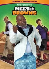 TYLER PERRY MEET THE BROWNS SEASON 2 New Sealed 3 DVD Set