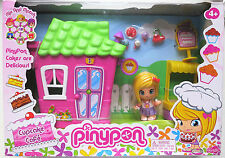 New In Box Famosa Pinypon Cupcake Cafe Playset with Doll