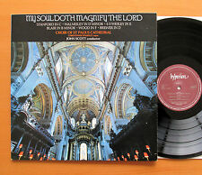 Hyperion A66249 My Soul Doth Magnify The Lord St Paul's Cathedral NEAR MINT LP