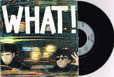 """SOFT CELL - WHAT - 7"""" 45 VINYL RECORD w PICT SLV - 1982"""