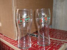 PAIR OF SAN MIGUEL PINT  GLASSES LAGER BEER ALE GLASSES