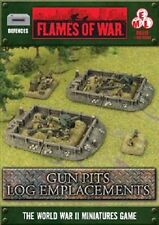 Flames of War: Gun Pits Log Emplacements BB119