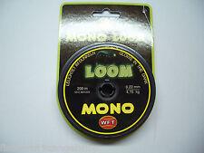 WFT Mono LOOM 200m, 4,15 kg, 0,22mm Selbstleuchtende Angelschnur