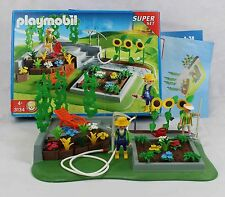 Playmobil Garden Set 3134 Complete with Box