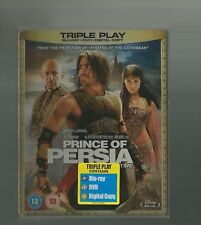 PRINCE OF PERSIA, THE SANDS OF TIME - UK EXCLUSIVE BLU RAY + DVD STEELBOOK - NEW