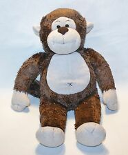 Build a Bear Brown Monkey Plush Stuffed Animal Lovey Jungle Nursery Decor