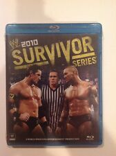 WWE: Survivor Series 2010 (Blu-ray Disc, 2011)NEW Authentic