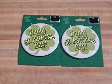 "1 4"" Jumbo Button that says ""Happy St. Patrick's Day!""....brand new"