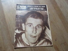 JOURNAL MIROIR DES SPORTS BUT CLUB  711 13 octobre 1958 jacques anquetil
