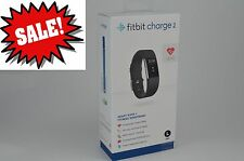 Fitbit - Charge 2 Activity - Fitness Tracker + Heart Rate (Large)- Black Silver