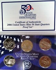 2006 50 State Quarters Proof Set COA