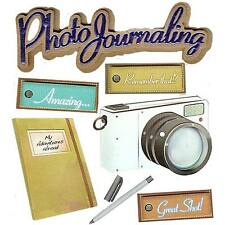 Photo Journaling Camera My Adventures Abroad Journal Jolee's 3D Stickers