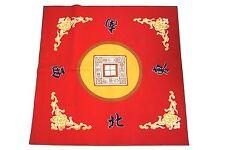 Mahjong Mat Paigow Card Game Table Cover Mah jongg Mahjongg Red