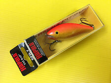 Rapala Shallow Fat Rap SFR-7 GFR, Gold Fluorescent Red Color Lure, NIB.