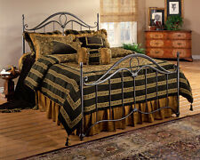 Hillsdale Furniture 1290BK Kendall Bed Set - King - Rails not included Bronze