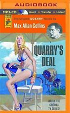 Quarry: Quarry's Deal : A Quarry Novel 3 by Max Allan Collins (2016, MP3 CD,...