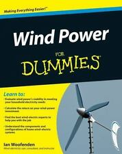 Wind Power For Dummies Books