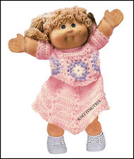 CABBAGE PATCH DOLLS CLOTHES  - VINTAGE CROCHET PATTERN (2)