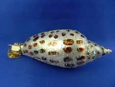 Scaphella Junonia Shell Glass Old World Christmas Ornament Sealife NWT 12465