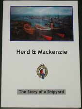 HERD & MACKENZIE SHIPYARD HISTORY - Moray Ship Building Fishing Boats Dockyard
