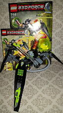 LEGO 8104-EXO FORCE-shapw Crawler 100% COMPLETE BOXED 2007 2 figure