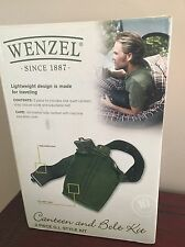 Wenzel Canteen and Belt Kit - Hiking Emergency Survival Free Shipping NEW