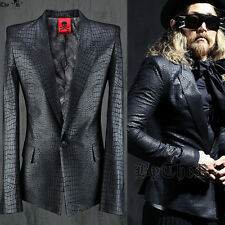 BytheR Men's Glamorous Urban Chic Snake Skin Suit Black Size L P0000TXC UK N