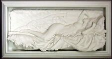 Bill Mack Tranquility Bonded Sand WomenHAND SIGNED FINE ART WALL SCULPTURE