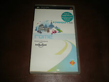 GUIDE VOYAGE INTERACTIF PSP PASSPORT TO ROME - COMPLET - EN FRANCAIS