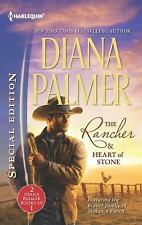 The Rancher and Heart of Stone by Diana Palmer (2012, Paperback)