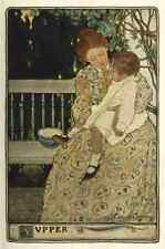 A4 Photo Willcox Smith Jessie 32 1902 A Mothers Day Supper Print Poster