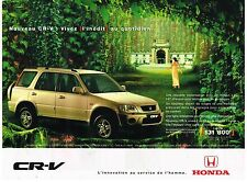 Publicité Advertising 1999 Honda CR-V
