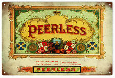Peerless Cigar and Tobacco Sign Garage Art