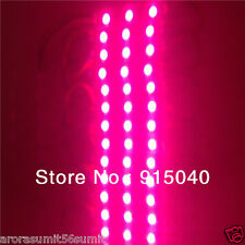 10pcs PINK 3 LED HOT Module String 5050 SMD Waterproof light Lamp Decorate DC12V