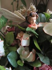 Cicely Mary Barker ELDERBERRY Flower Fairy Ornament Figurine RETIRED!  #87041