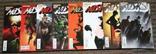 Dynamite Masks # 1-8 COMPLETE SET - (1-4 are Jae Lee, 5-8 are Segovia Covers) UN