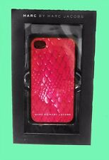 MARC JACOBS Pink Dragon Scale iPhone 4/4s Case Msrp $38 *Original Box included*