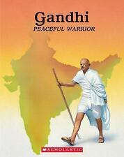 Gandhi: Peaceful Warrior-ExLibrary