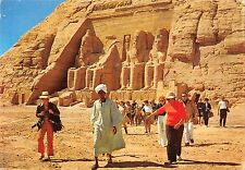 BT11428 Abou simbel rock temple of ramses II partial views of the gign    Egypt