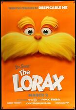 THE LORAX 2-Sided Bus Shelter Movie Poster 4'x6' • #DrSeuss #Animation