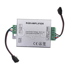 DC 12V-24V 12A LED RGB Signal Amplifier Repeater for 3528 5050 LED Strip Light