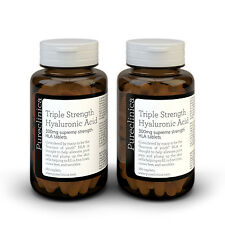 Triple Strength Hyaluronic Acid 300mg tablets - 6 months supply (360 tablets).