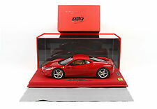 BBR Ferrari 458 Red Corsa Three-Alloy 322 1:18 DELUXE LE 20pc Last One!