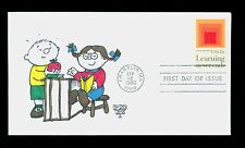 #1833 1980 15c Learning FDC Kover Kids Hand Colored Cachet UA FD1844