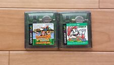 Gameboy Color Games Mario Golf  Donkey Kong GB Japan Tested&working